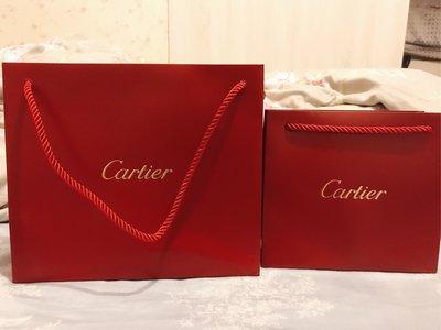 全新Cartier 卡地亞 紙袋 中/小型