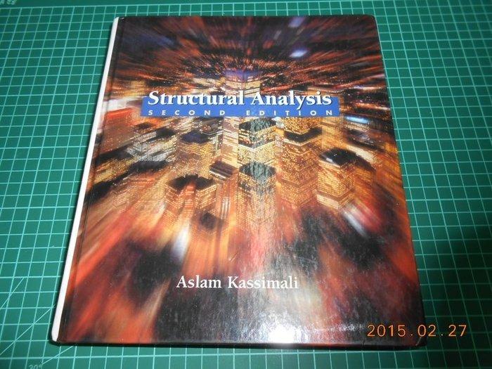 《Structural Analysis》八成新 Second Edition 附光碟,有劃記,輕微黃斑,外觀角微損
