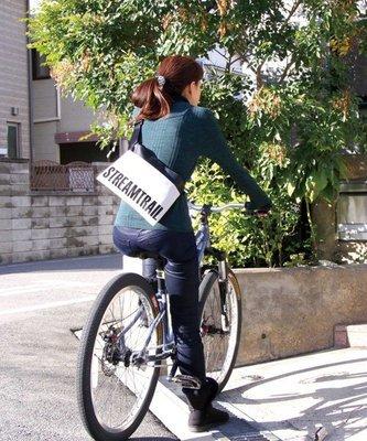 日本StreamTrail戶外防水包~SUCKER 單肩休閒包-逛街上班旅遊最方便的隨身小包~~浪花白(限量到