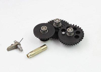 【WKT】MODIFY摩帝2-3代 8mm SMOOTH模組化齒輪組(射速16.32)-MD-GB092314