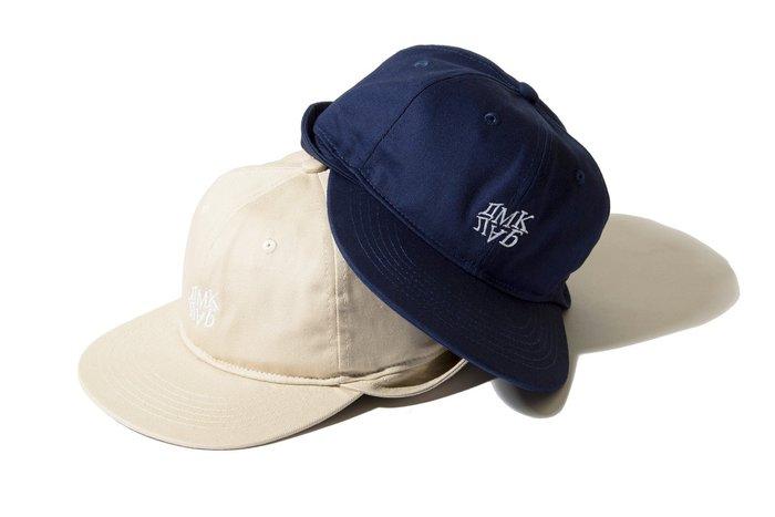 { POISON } DeMarcoLab ADV 6 PANEL CAP 可翻式蓋耳裁片設計經典六片球帽