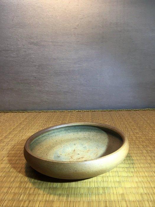 (店鋪不續租清倉大拍賣)簡銘炤先生,柴燒中型茶盤#383#原價8500元特價4280元