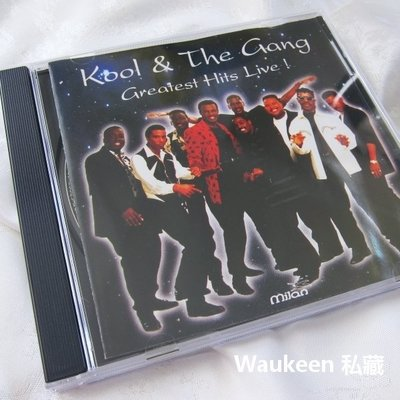 庫爾夥伴現場演唱精選輯 Greatest Hits Live Kool & The Gang 放克 Disco Funk