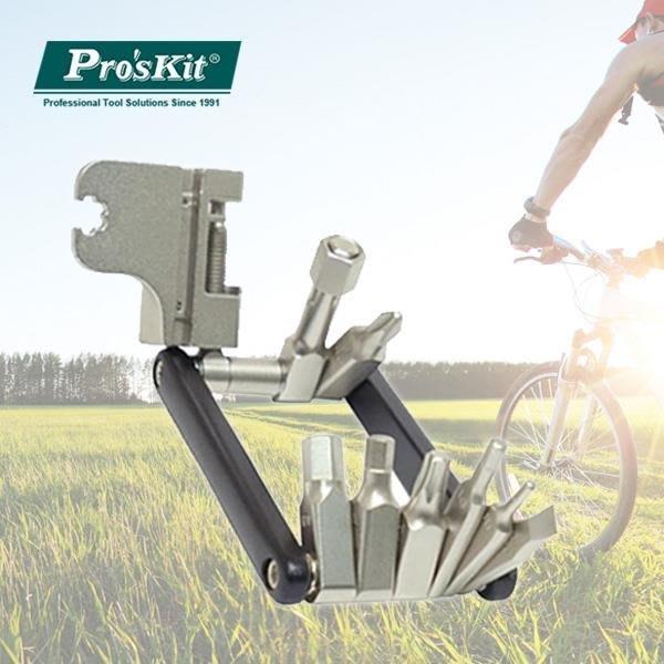 ☆台南PQS☆  Pro'sKit寶工 自行車16合一工具組 HW-322M DIY工具 單車保養 自行車工具組
