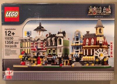 (JEFF) LEGO 樂高 10230 迷你街景 10211 10197 10185 10190 10182 台北市