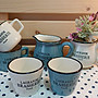 《散步生活雜貨-花園散步》日本進口 HABITER - Brasserie 歐式 陶製 嘴壺 花器-兩色選擇