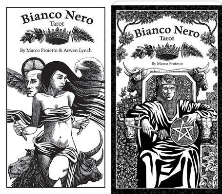 【牌的世界】黑白塔羅牌 Bianco Nero Tarot(78張原版進口)