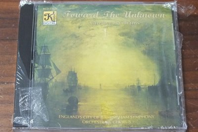 Klavier-Vaughan williams: Toward The Unknown-全新未拆