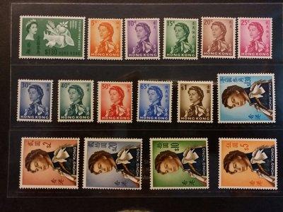 1962普通票全套上品有貼加1枚共16連保護套寄出($21掛號)