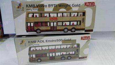 九巴巴士K M B Volvo B9TL Wright Gold.       /  K M B A D L Enviro 500 Gold.