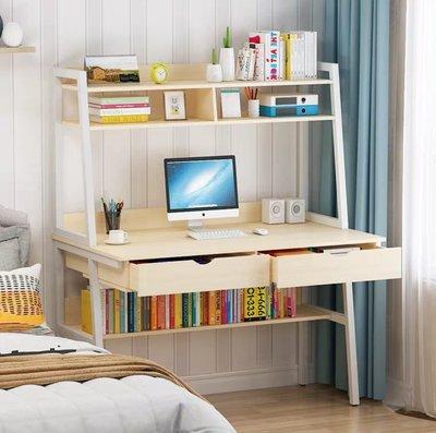 (訂貨價:$468)書架+櫃桶+電腦枱 (寬80cm | 寬100cm | 寬120cm) 書櫃 電腦桌 Desk + Bookshelf *住宅送貨加30元