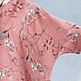 ☆嘟嘟House☆^_^【(FEC026237210)~超舒適~花卉寬鬆雪紡衫】深藍,粉,芥黃
