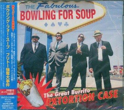 (甲上唱片) Bowling For Soup - The Great Burrito Extortion Case - 日盤+2BONUS 16Tracks