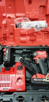 【花蓮源利】雙鋰電池 M18FID2 米沃奇 18V無刷衝擊起子機 M18FID-502C 非MAKITA 牧田502X