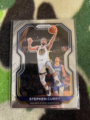 2020-21 Prizm Golden State Warriors Stephen Curry Base #159