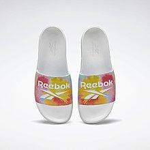 南◇2020 9月  Reebok CLASSIC PRIDE SLIDES 彩虹潑墨彩蛋 彩色 拖鞋 運動拖鞋 男女