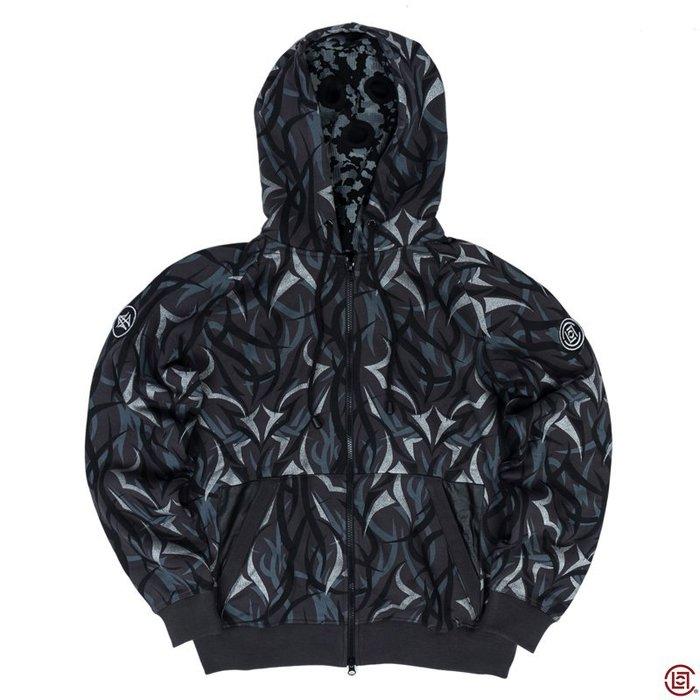 XinmOOn CLOT x VANS x ALIENEGRA Egra camo parka 黑色 荊棘 EDC 外套