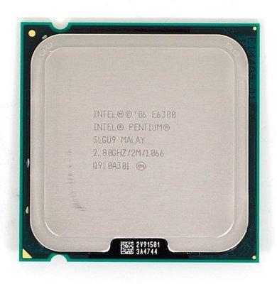 【偉鑫資訊】Intel CPU 處理器 E6300