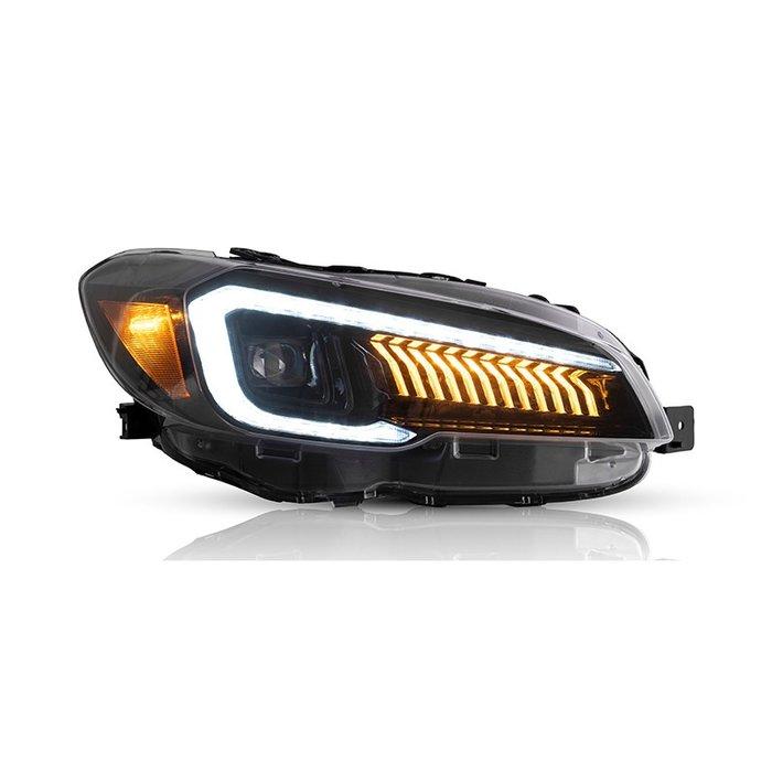合豐源 車燈 Levorg WRX STI LED 魚眼 透鏡 大燈 頭燈 日行燈 14 15 16 17 18 跑馬