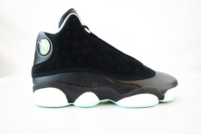 玉米潮流本舖 AIR JORDAN RETRO 13 GG 439358-015  黑配蒂芬妮綠 喬丹13代籃球鞋