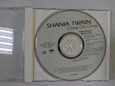 昀嫣音樂(CD42)SHANIA TWAIN COME ON OVER Asian Edition Bonus Disc