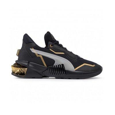 日本代購PUMA Provoke XT Wns 女款 黑色 金 運動 訓練鞋 193784-01