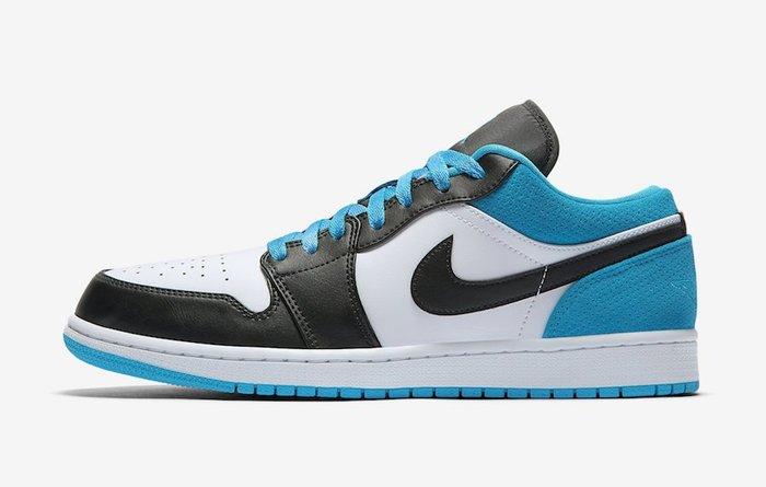 【紐約范特西】預購  AIR Jordan 1 Low Laser Blue CK3022-004 激光藍