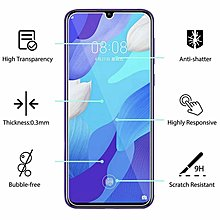 Huawei Nova 5 透明鋼化防爆玻璃 保護貼 9H Hardness HD Clear Tempered Glass Screen Protector
