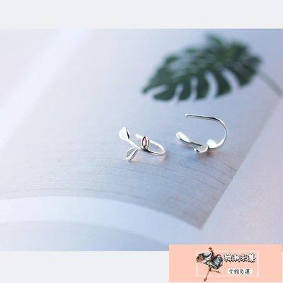 耳釘女耳夾耳環耳飾S925銀小清新氣質韓國個性簡約【韓潮來襲】