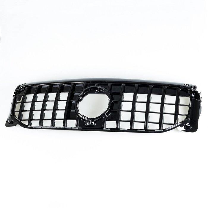 亮光黑 GT樣式 ABS水箱罩前格柵鼻頭 賓士 Mercedes Benz GLB-Class X247 2020up