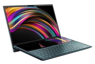 ASUS ZenBook Duo UX481FL-0171A10510U 蒼宇藍 (i7-10510U/16G
