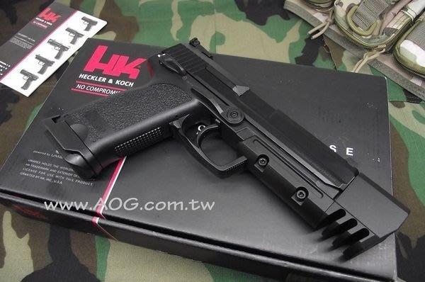 【翔準軍品AOG】《KSC》KWA KSC USP MATCH HK授權版 後做力+後定 瓦斯BB槍