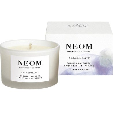 英國皇室御用香氛NEOM Tranquility travel candle75g(預購)