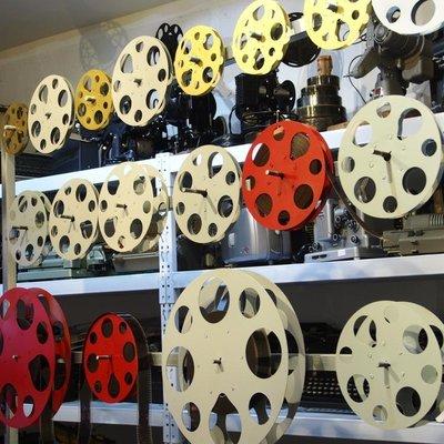 百寶軒 影樓道具家裝擺件8mm16mm35mm電影膠片片夾電影片盤懷舊老電影 ZG1092