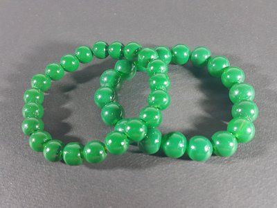 [銀九藝] 水晶 琉璃珠 開運能量手鍊 手珠 2件一標 (8~4)