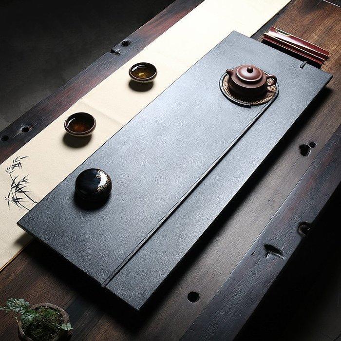 【睿智精品】石茶盤 功夫茶盤 茗茶 泡茶石盤 烏金石茶盤(GA-4408)
