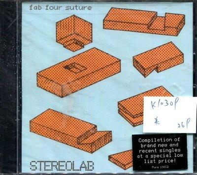 *真音樂* STEREOLAB / F AB FOUR SUTURE 美版 全新 K10309(下標賣2)