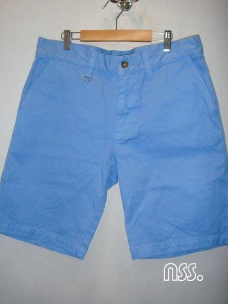 特價【NSS】SOPHNET SOPH COTTON TWILL SHORT PANT SAX BLUE  水藍 天空藍 短褲 L