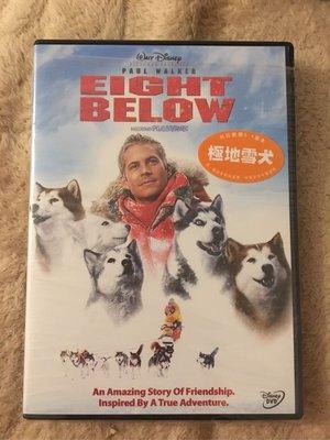 正版DVD《極地長征》Eight Below/保羅沃克~全新未拆