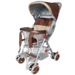 [ 家事達 ]  Mother's Love-KC510A全罩三明治透氣網布揹架手推車  - 促銷價