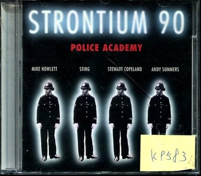 *真音樂* STRONTIUM 90 / POLICE ACADEMY 二手 K9583(下標賣3)