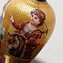 [來我家挖寶]... 西洋古董瓷器收藏 Royal Vienna 一個小瓶子 三面圖