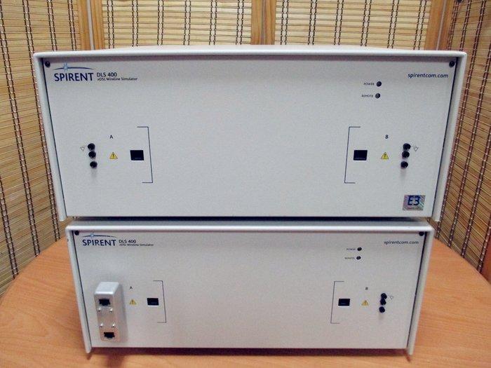 康榮科技Spirent DLS400(DL4-400E3 Main+Exp) Wireline Simulator