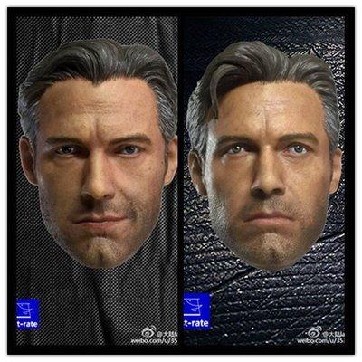 JAMES ROOM#First-rate 1:6 BVS 蝙蝠俠大戰超人蝙蝠俠班艾佛列克 小班雙頭雕