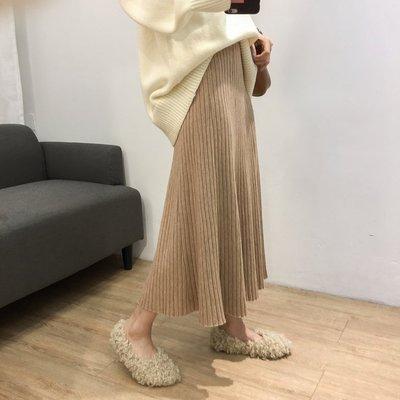 【UBY】美哭的傘裙!包芯紗大擺A字百褶裙◄No1019