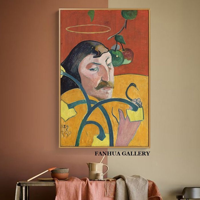 C - R - A - Z - Y - T - O - W - N 尊貴的愛馬仕橙歐美人物掛畫小眾藝術版畫工作室裝飾畫art print gallery