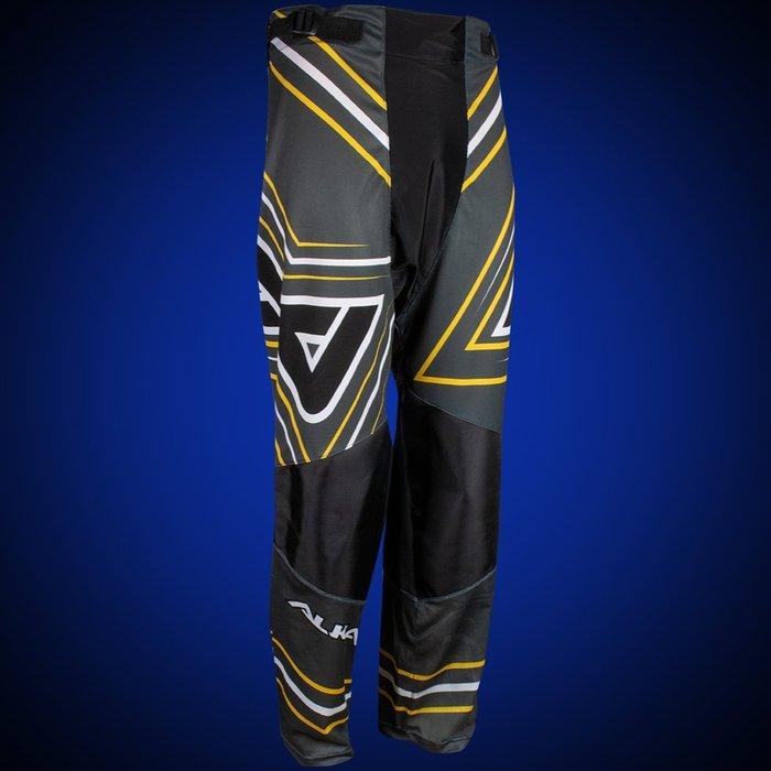 Alkali Revel 4 STAR SR 成人尺寸 直排輪曲棍球長褲 防磨褲 外穿褲 黑+黃+白 少量到貨