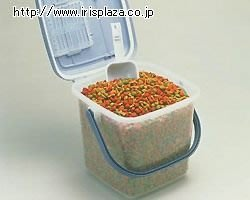 貝果貝果 日本 IRIS 飼料儲存桶 3公斤  [L337]