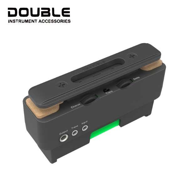 Double X2 U0 烏克麗麗 加振 拾音器 - 【黃石樂器】