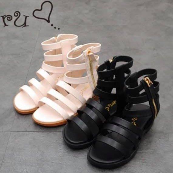 『※妳好,可愛※』 韓國童鞋 正韓 經典羅馬風涼鞋 羅馬涼鞋 兒童涼鞋  女涼鞋